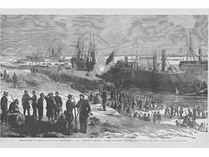 Recapture of Baton Rouge under General Grover Poster Print by Frank  Leslie (18 x 24)