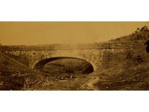 Bridge in the Washington Aqueduct near Union Arch Poster Print (18 x 24)