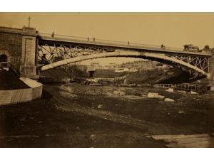 Aqueduct Bridge Georgetown DC erected by Maj Gen MC Meigs Poster Print (18 x 24)