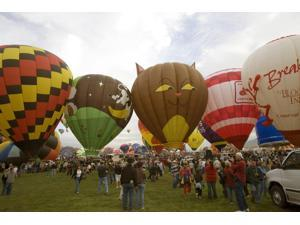 The Albuquerque International Balloon Fiesta is a yearly balloon fiesta that takes place in Albuquerque New Mexico USA during early October The balloon fiesta is a nine day event and has around 750 ba