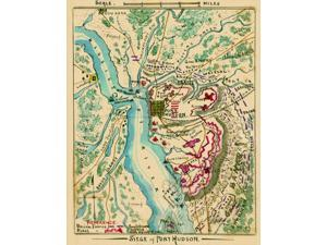 Siege of Port Hudson  Union troops on land and water surrounding Confederate fortifications at Port Hudson La on the Mississippi River approximately 25 miles north of Baton Rouge The Union XIX Corps u