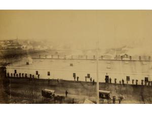 Government bakery Stonemans Station Aquia Creek & Fredericksburg Railroad Poster Print (18 x 24)