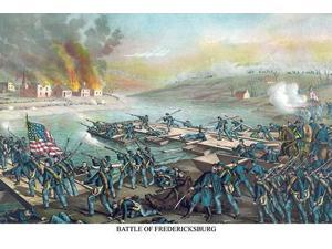 Lincoln replaced McClellan with General Burnside as Commander of the Army of the Potomac and thereby wanted to regain the initiative over Lee but Union frontal assaults at Fredericksburg were futile c