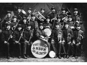 Photo of the Fort Wayne Arion Band Poster Print by unknown (18 x 24)