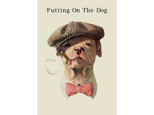 Cover art to a magazine produced in the 1920s and 1930s showing a dog in a hat smoking Poster Print by unknown (18 x 24)