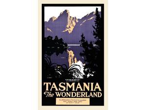 Illustrator Harry Garnet Kelly (1896-1967) was commissioned by the State Tourist Advisory Board to create scenes of Tasmania that would entice visitors to attend the Back to Tasmania Carnival in Novem
