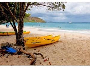 Cinnamon Bay on the Island of St John, US Virgin Islands Poster Print by Joe Restuccia III (36 x 24)