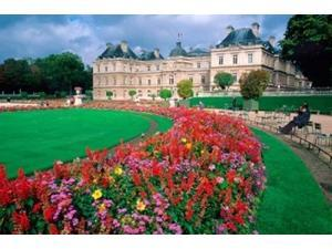 Luxembourg Palace in Paris, France Poster Print by David R. Frazier (36 x 24)