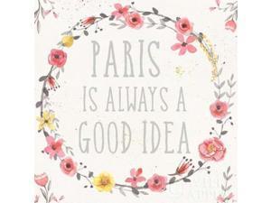 Paris Blooms IV Poster Print by Jess Aiken (12 x 12)