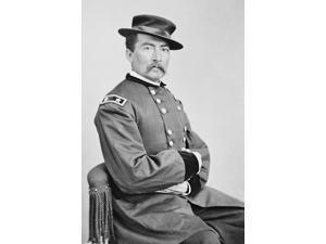 Vintage American Civil War photo of Union Army General Philip Sheridan Poster Print by John ParrotStocktrek Images (11 x 17)