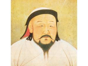 Kublai Khan Emperor of China Yuan Dynasty Poster Print by Science Source (18 x 18)
