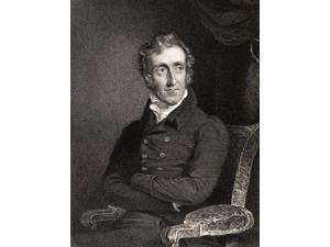 Henry Welbore Agar Ellis 2Nd Viscount Clifden 1761 To 1836 Engraved By E Scriven After G Hayter From The Book National Portrait Gallery Volume Ii Published C 1835 Poster Print (24 x 32)