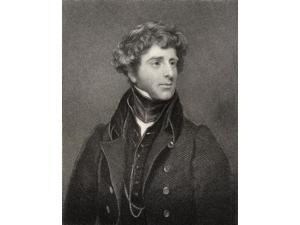 George James Agar Ellis Baron Dover 1797 To 1833 English Man Of Letters Engraved By E Scriven After T Philips From The Book National Portrait Gallery Volume Ii Published C 1835 Poster Print (12 x 16)