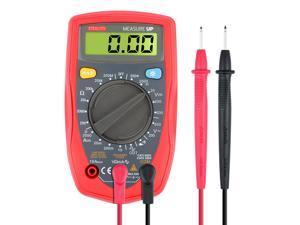 Etekcity Mini Portable Digital Multimeter (DMM) Voltmeter Ammeter Ohmmeter, AC / DC Voltage, DC Current, Resistance, Continuity, Diodes Meter Tester with Backlit LCD