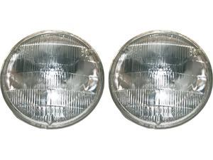 Pair of PAR High Beam Headlamp Headlight Halogen H5001