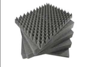 Pelican 1450 3-Piece Replacement Pick N' Pluck Foam Set (Grey)