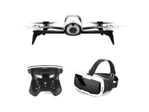 Parrot Bebop 2 White with SKC2 and FPV Glasses - White Bebop 2 White with SKC2 and FPV Glasses