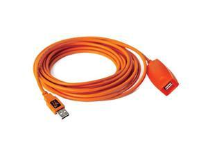 Tether Tools 16 Ft TetherPro USB 3.0 Active Extension Cable (Hi-Visibility Oran