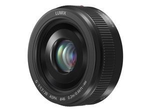 Panasonic LUMIX G II 20mm f/1.7 ASPH. Lens (Black)