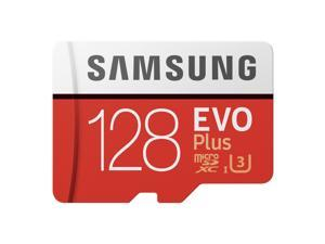 Samsung EVO Plus 128 GB microSDXC - Class 10/UHS-I (U3) - 100 MB/s Read - 90 MB/s Write