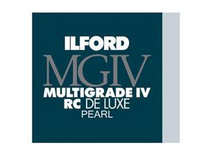 Ilford Multigrade IV RC Deluxe MGD.1M Black and White Variable Contrast Paper 8 x 10 Inches, Glossy, 50 Sheets 1770339