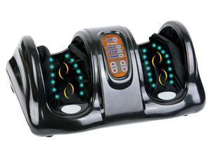 Carepeutic KH385LBA Deluxe Hand-Touch Shiatsu Foot Massager with Kneading Rolling Massage for Tension and Fatigue Relief