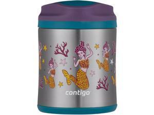 Contigo Kid's 10 oz. Vacuum Insulated Stainless Steel Food Jar- Mermaid/Eggplant