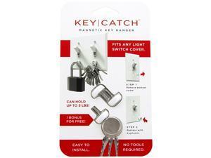The KeyCatch by KeySmart: A Modern Magnetic Key Rack - 2 Pack