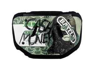 Battle Sports Science Cash Money Chrome Football Back Plate - Adult