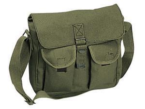 Rothco Canvas Ammo Shoulder Bag - Olive Drab