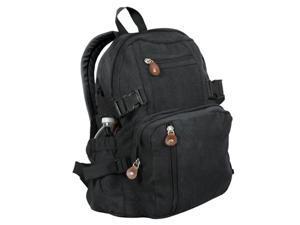 Rothco Vintage Canvas Mini Backpack - Black