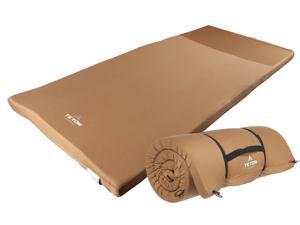 """TETON Sports Universal Camp Cot Pad - (80"""" x 30"""" x 2"""", 6 lbs)"""