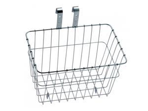 Wald #1352 Bicycle Grocery Basket - Silver