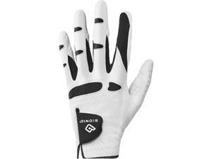 Bionic Men's StableGrip Natural Fit Left Hand Golf Glove - XL - White/Black
