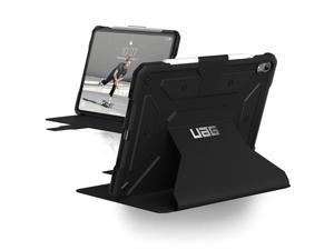 UAG Folio iPad Pro 11-inch Metropolis Feather-Light Rugged [Black] Military Drop Tested iPad Case with Apple Pencil Holder