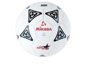 Soccer Ball by Mikasa Sports - La Estrella Plus Size 5, Black/White