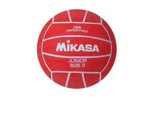 Water Polo Ball by Mikasa Sports - Junior Size 2, Red