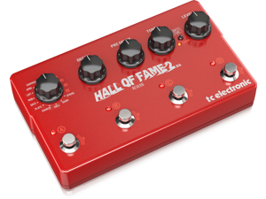 TC Electronic HALL OF FAME 2X4 REVERB Effects Pedal