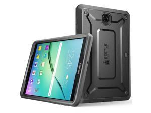 Galaxy Tab S2 9.7 Case, SUPCASE [Heavy Duty] Case for Samsung Galaxy Tab S2 9.7 Tablet [Unicorn Beetle PRO Series] Rugged Hybrid Protective Cover w/ Builtin Screen Protector Bumper (Black/Black)