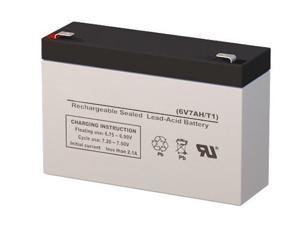 UB670 6V 7AH Replacement Battery