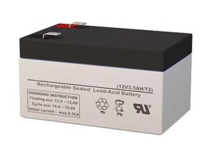 This is an AJC Brand Replacement APC Smart-UPS SC SC450RM1U 12V 9Ah UPS Battery