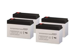 CyberPower 1500AVR UPS Replacement Batteries - Pack of 4