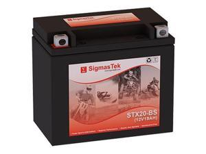 Interstate Battery FAYTX20H-BS Battery (Replacement By SigmasTek)