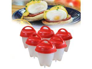 Silicone Egg Boiler by TV Time Direct, Set of 6