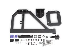 Body Armor 5297 Tire Carrier Single Action Fits 07-18 Wrangler (JK)