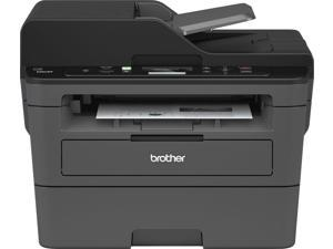Brother - DCP-L2550DW Wireless Black-and-White All-In-One Printer - Black