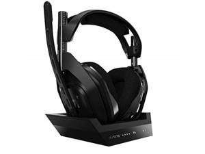 ASTRO Gaming A50 Wireless headset + Base Station for PS5, PS4 and PC - Black/Silver