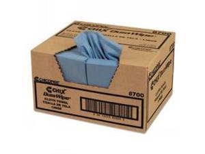 "Chix Dura Wipe Cloth Blu12""X13 1/2"" 400/Cs"
