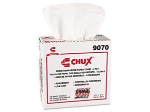 Chix Chux General Purpose Wipers DRC 9 1/2 x 16 1/2 White 900/Carton 9070