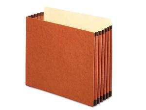 Globe Weis File Cabinet Pockets Straight Cut 1 Pocket Letter Redrope FC1534P